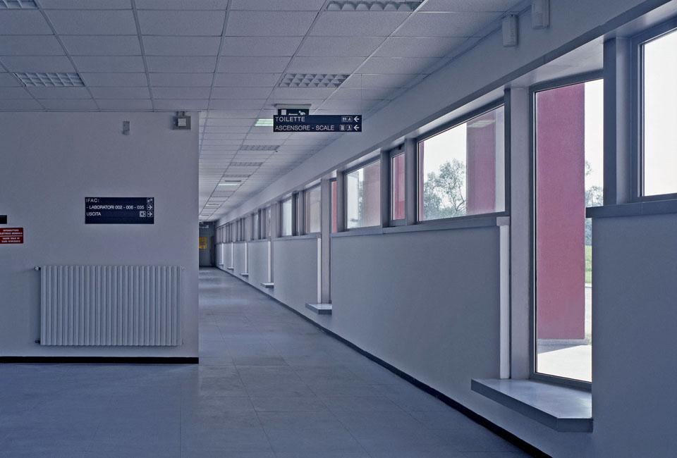 Interni degli edifici del CNR