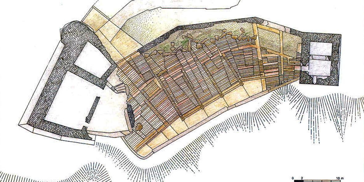 Planimetria del disegno della pavimentazione